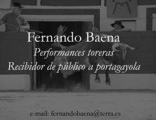 Performance torera nº 6. A portagayola